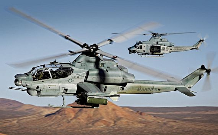 Flight computers for Marine Corps helicopter upgrades to come from Northrop Grumman