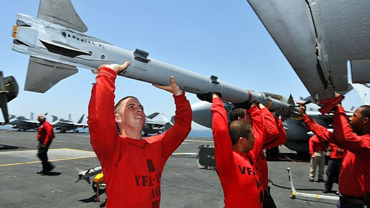Raytheon to build 485 AIM-9X air-to-air missiles in $233.1 million Navy contract