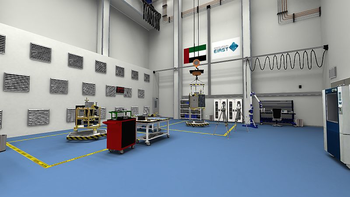EIAST builds primay satellite manufacturing facility, preps to produce KhalifaSat
