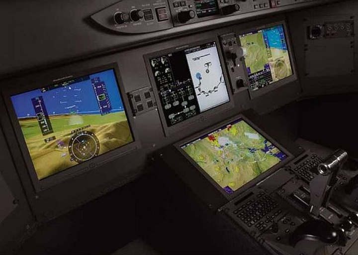 NBAA—ORLANDO, Fla., 23 Oct. 2014. Rockwell Collins next-generation Pro Line 21 enhancements—expected to be available during the second half of 2015—will be featured on the Bombardier Vision flight deck of Challenger 650 aircraft.