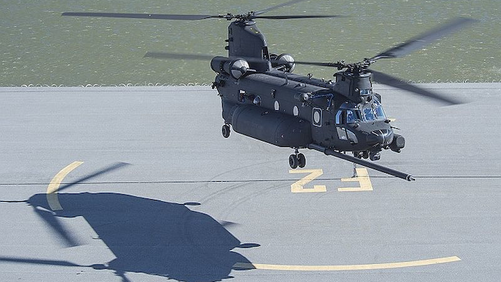 Boeing delivers new-build MH-47G Special Operations Chinook