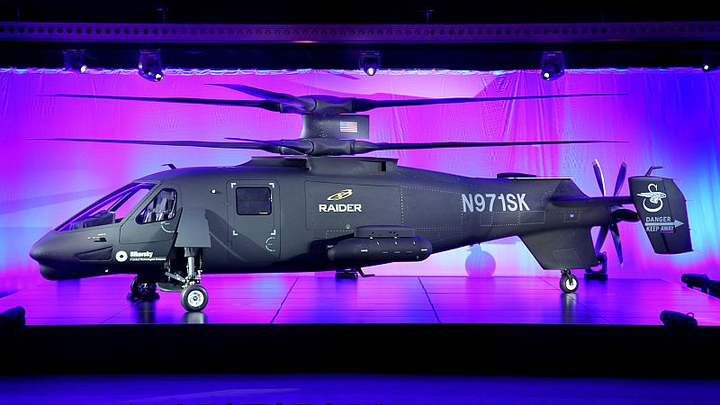 Sikorsky collaborates with LORD Corp., rotorcraft industry specialists to unveil S-97 Raider helicopter