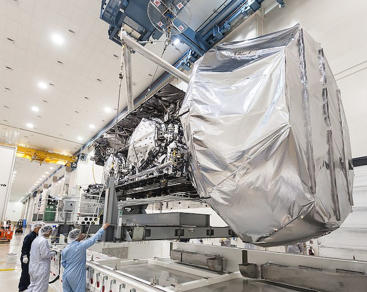 U.S. Navy and Lockheed Martin deliver third MUOS secure communications satellite for mobile warfighters