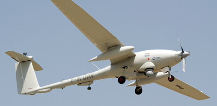 Sagem flight tests prove Patroller UAS capable of operating in civilian airspace