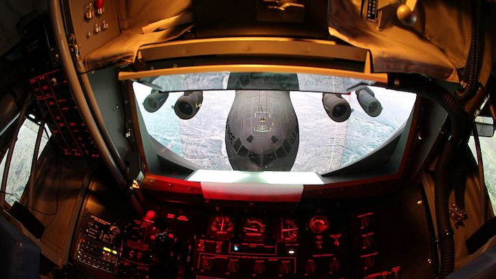 FAAC powers visual display for Air National Guard boom operator simulation system with Christie LED projectors, LCD panels