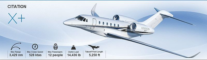 Textron Aviation orders $3 million in Citation X+ wing spar