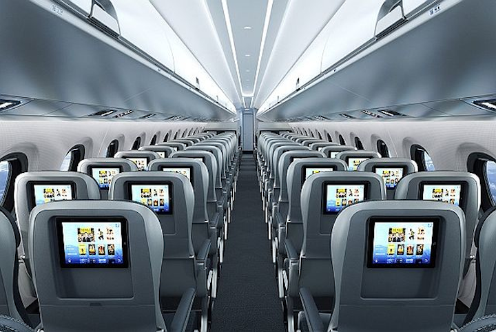Aircraft cabin innovations garner awards