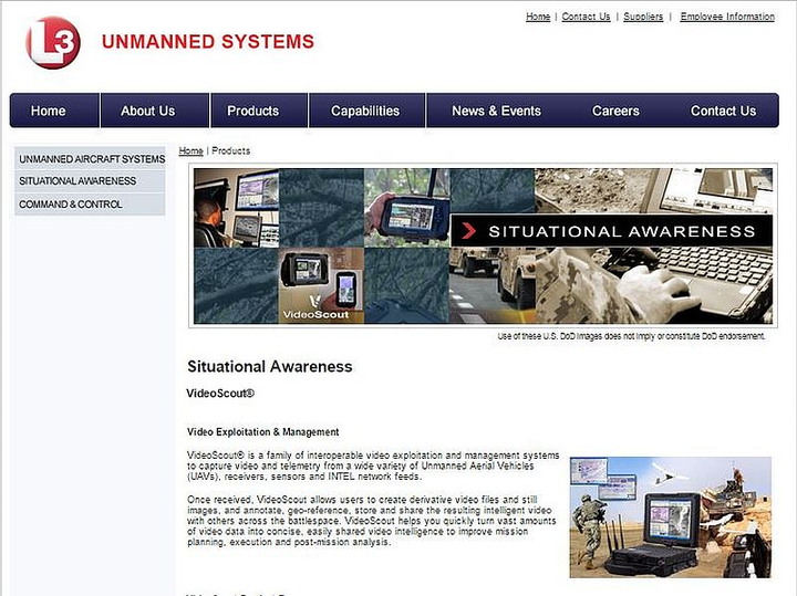 L-3 Unmanned Systems debuts VideoScout Insyte 5.0 video processing and exploitation software