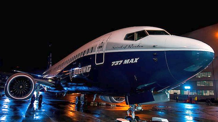 Boeing rolls out first 737 MAX
