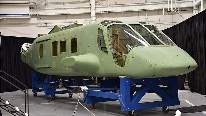 Spirit AeroSystems harnesses HyperSizer design software to achieve early delivery of Bell V-280 Valor Tiltrotor fuselage
