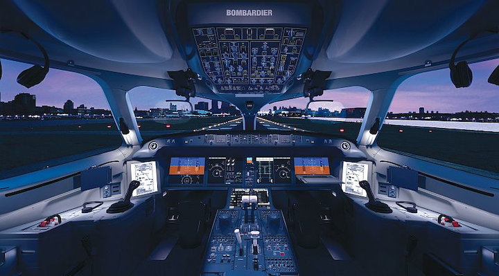 Rockwell Collins Pro Line Fusion certified on Bombardier C Series commercial aircraft