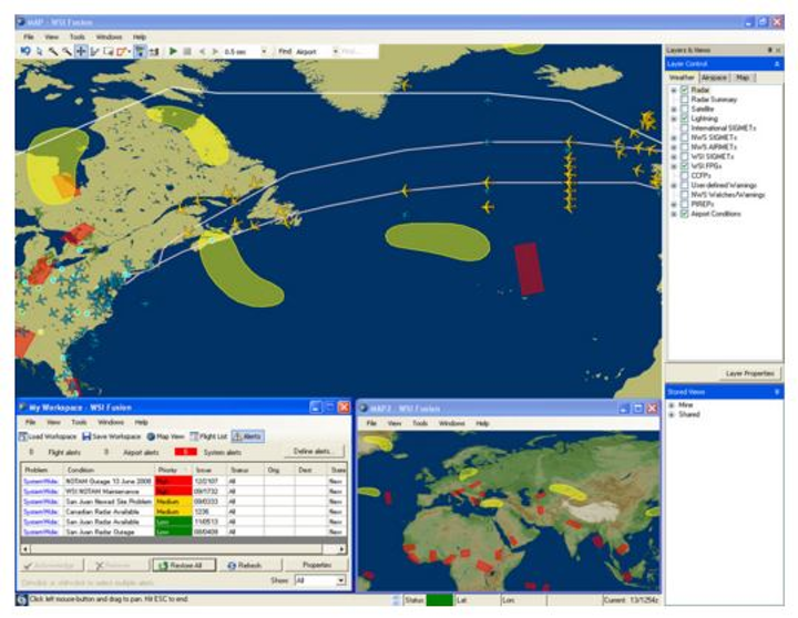 IBM's The Weather Company integrates FlightAware global flight tracking data to boost situational awareness, critical decision-making