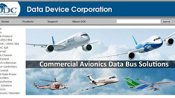 Data bus market to reach $8.55 billion by 2020 as aerospace system complexity grows