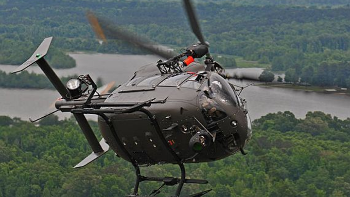 U.S. Army orders 41 Airbus UH-72A Lakota light utility helicopters