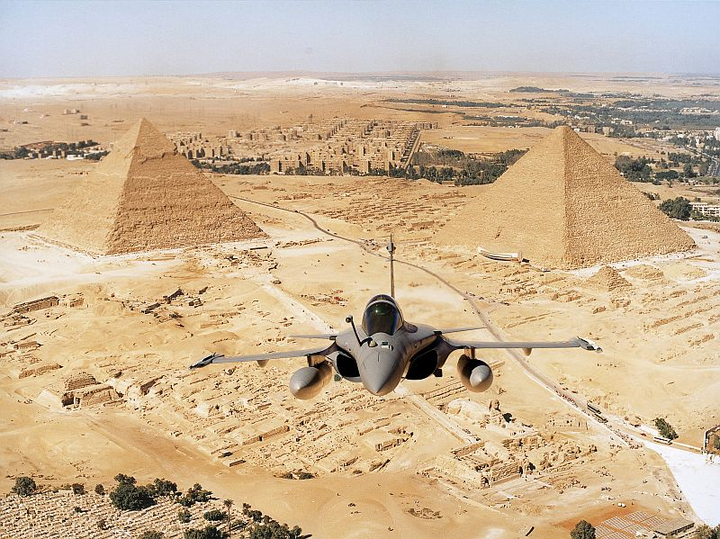 Egypt to equip forces with Dassault Rafale combat aircraft with Thales systems