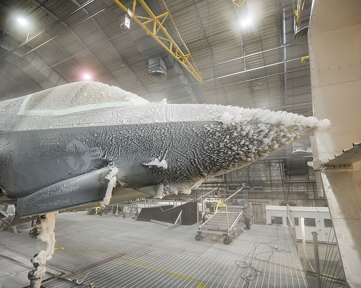 F-35 Lightning II undergoes extensive all-weather climatic testing