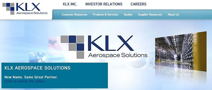 B/E Aerospace spins-off KLX, distributor of aerospace fasteners and consumables