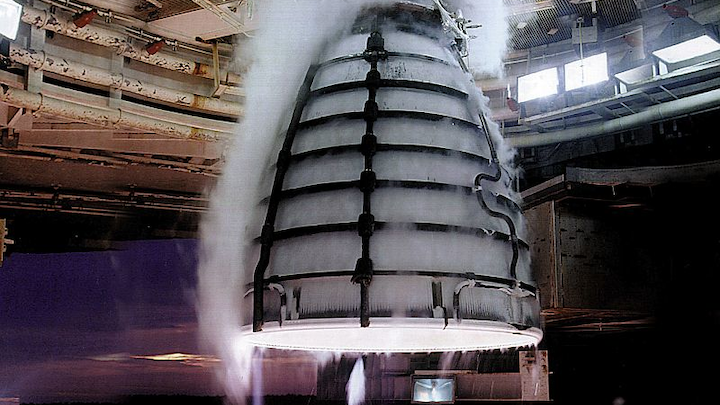 The RS-25, also known as the Space Shuttle Main Engine