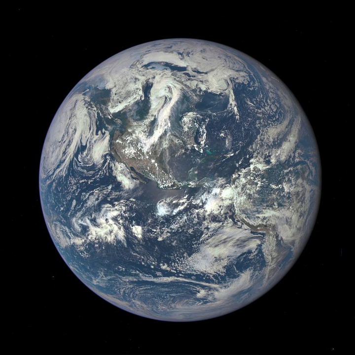 NASA satellite camera delivers photo of Earth from distance of 1 million miles
