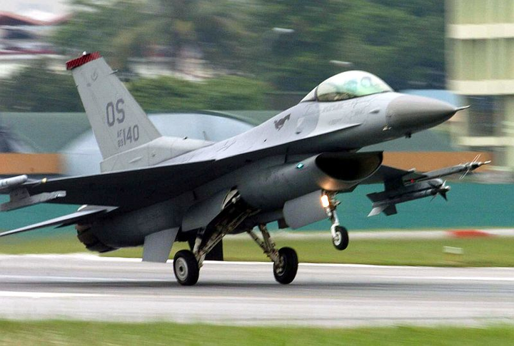 Military F-16 jet collides mid-air with private Cessna aircraft
