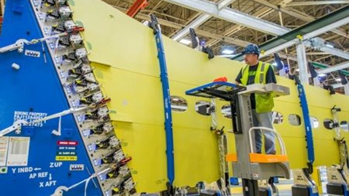 Boeing begins production of 737 MAX commercial aircraft