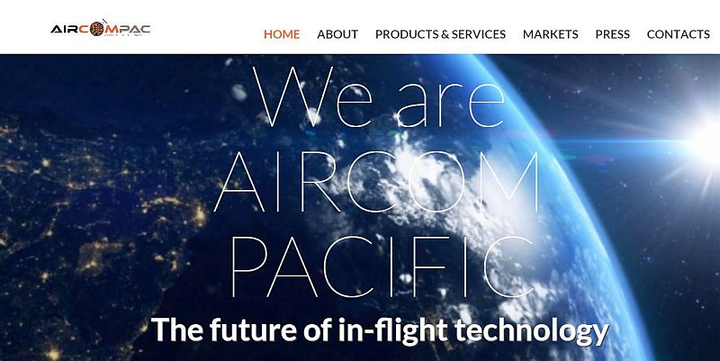 AirComPac debuts in-flight entertainment concept, signs agreements during Paris Air Show