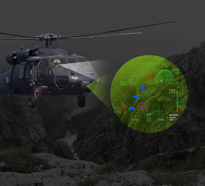 Elbit Systems introduces BrightNite for helicopter pilots flying in degraded visual environments