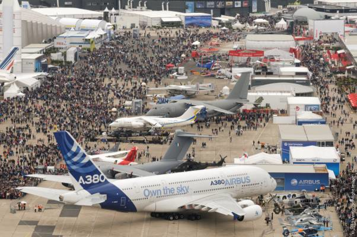 Fifty-first Paris Air Show opens doors to growing, global crowd of aerospace professionals