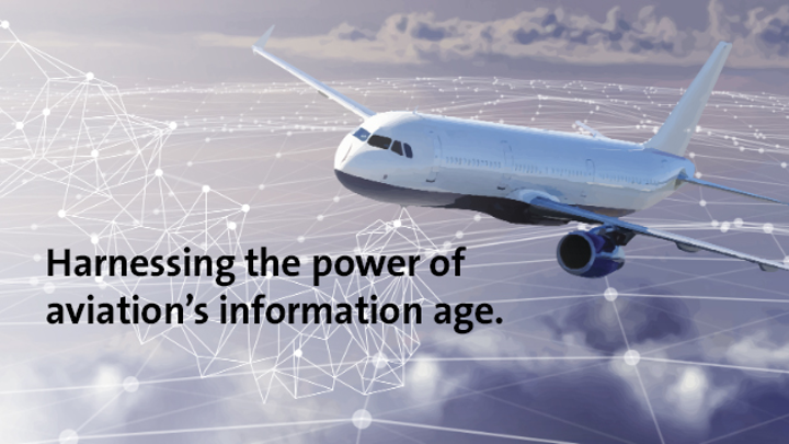 Rockwell Collins focuses on data flow in aviation information age