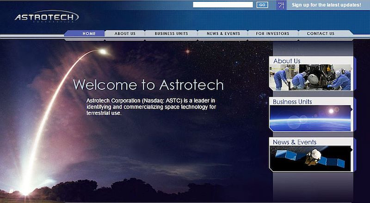 Space company Astrotech acquires imaging technology in auction