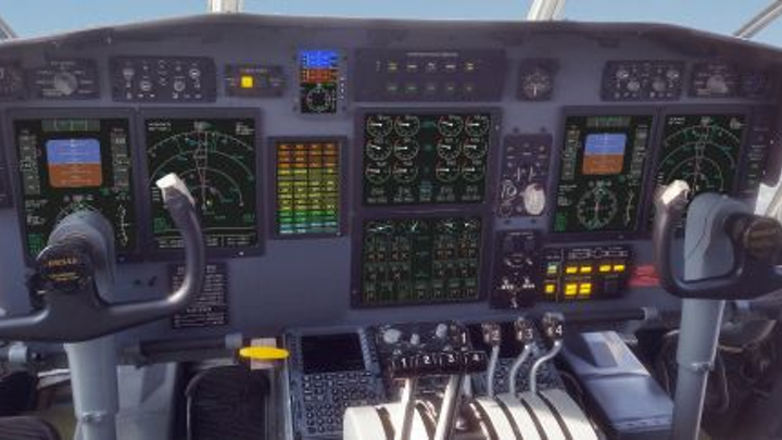 Innovative Solutions & Support tests and delivers NextGen C-130 flight deck