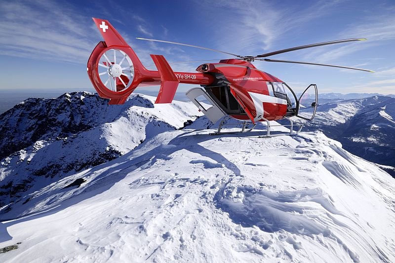 Marenco Swiss Helicopter offers Sagem ICDS-8A glass cockpit for SKYe SH-09 helicopter