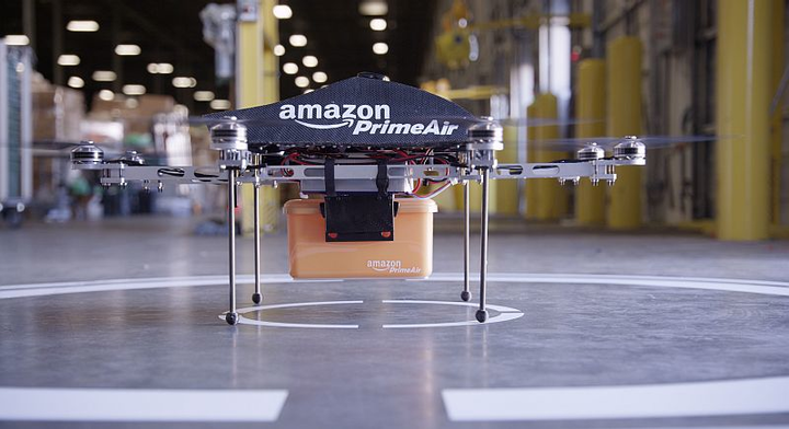 FAA grants experimental airworthiness certificate for Amazon unmanned aircraft