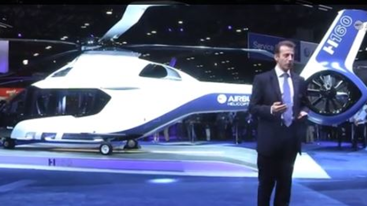 Airbus Helicopters unveils all-new H160 medium-class rotorcraft, formerly called X4