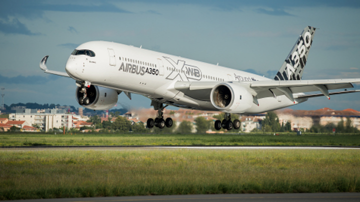 Airbus produces 3D-printed flight parts for A350 XWB aircraft with Stratasys technology