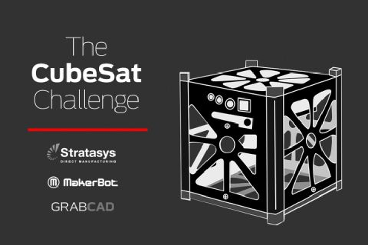 Stratasys and MakerBot launch CubeSat challenge for aerospace engineers and students