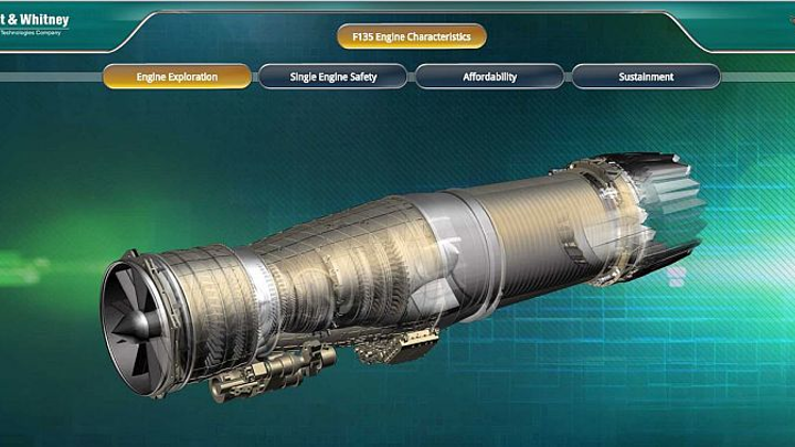 Pratt & Whitney selects Italian partners to provide components for F-35 military jet engines
