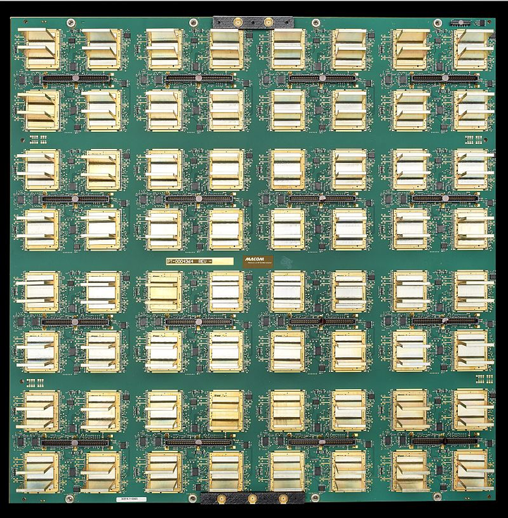MIT tests, issues first commercial production order for SPAR tiles from MIT radar