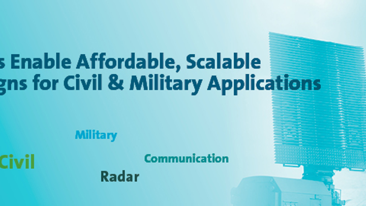 MIT uses MACOM RF tiles in testbed for DARPA ACT radar development