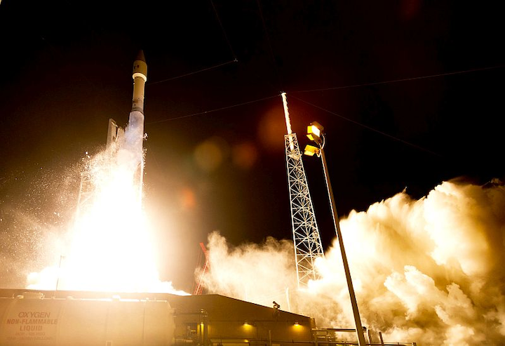 Aerojet Rocketdyne, Lockheed Martin, ULA launch communications satellite into orbit for Mexican Ministry of Communications and Transportation