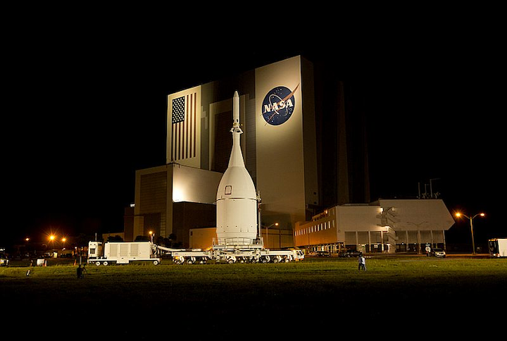 Lockheed Martin moves NASA's Orion spacecraft into full-scale assembly, test