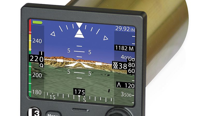 L-3 debuts GENESIS ESI-500 electronic standby instrument with synthetic vision
