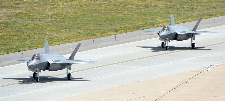 Lockheed Martin delivers first two F-35A Lightning II military jets to Hill AFB