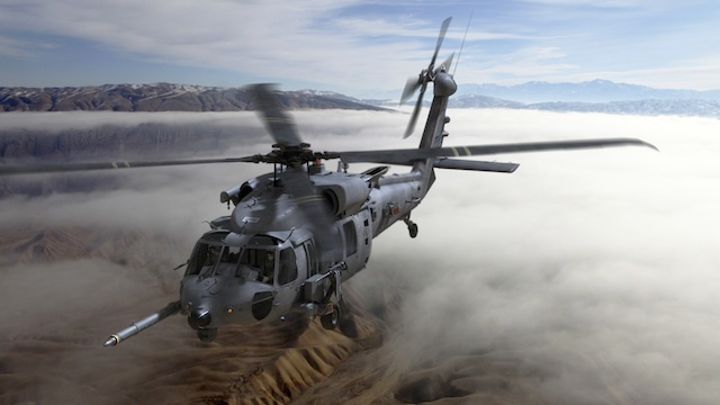Sikorsky selects Rockwell Collins avionics for U.S. Air Force combat rescue helicopters