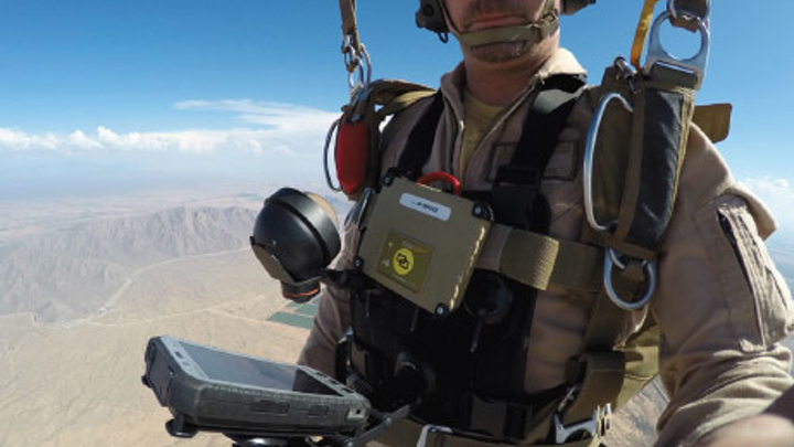 Airborne Systems taps Panasonic rugged tablet to help parachutists navigate in air