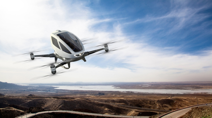 EHang launches autonomous aerial vehicle, ushers in AAV tech