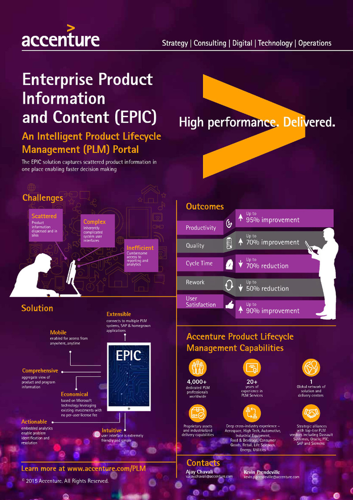 Accenture's digital portal helps product engineers accelerate deliveries to market