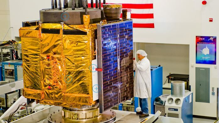 Final satellite in GPS IIF constellation taps Orbital ATK motor, solar array, thermal, and antenna equipment
