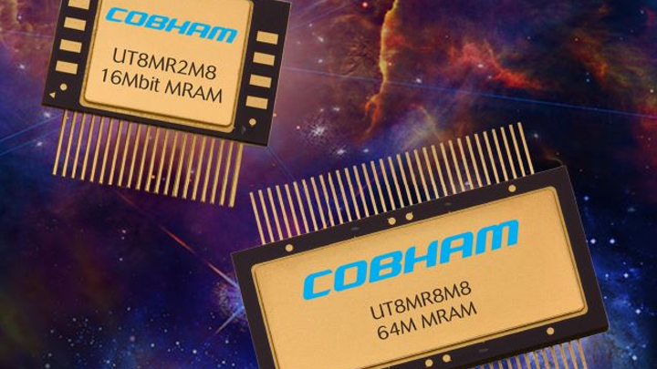 Cobham announces QML V qualification of MRAMs with Everspin commercial IP