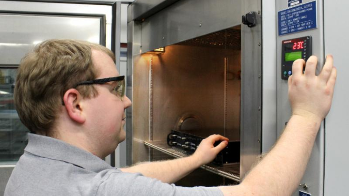 Crystal Group adds temperature and humidity chamber to engineering testing suite